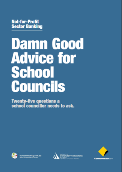 Damn Good Advice for School Councils Cover