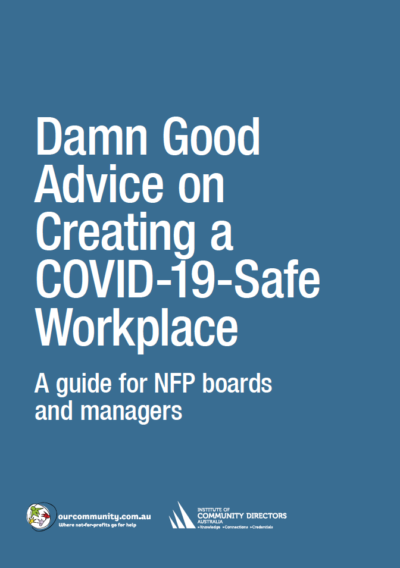 Damn Good Advice on Creating a COVID-19-Safe Workplace