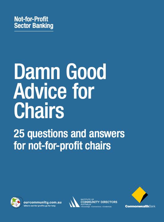 Damn Good Advice for Chairs
