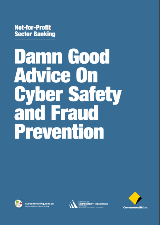 Damn Good Advice on Cyber-safety and Fraud Prevention