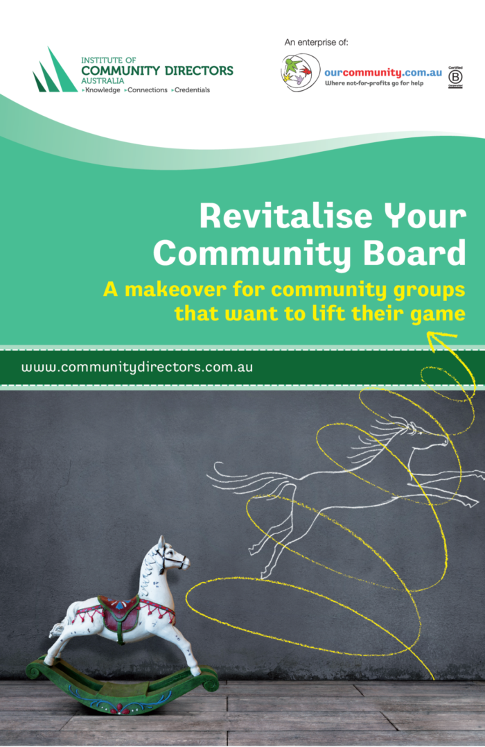 Revitalise Your Community Board: A makeover for community groups that want to lift their game