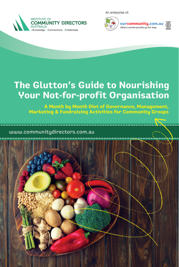 The Glutton's Guide to Nourishing Your Not-for-Profit Organisation