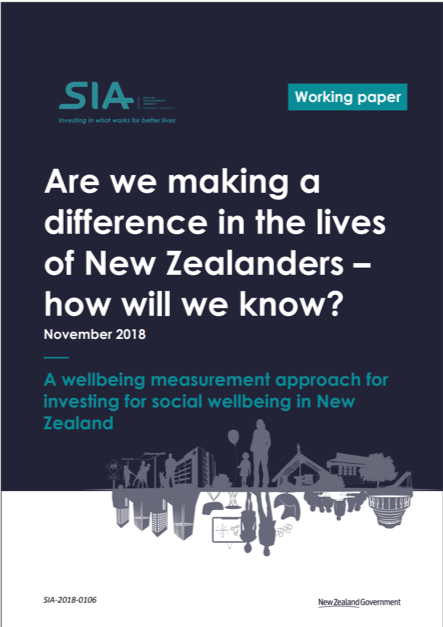 Are we making a difference in the lives of New Zealanders - how will we know?