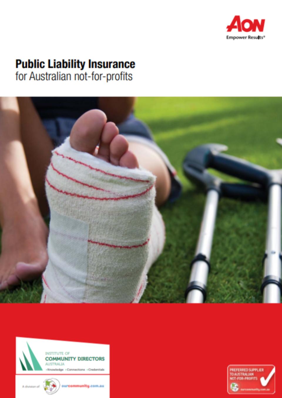 Aon publicliability cover