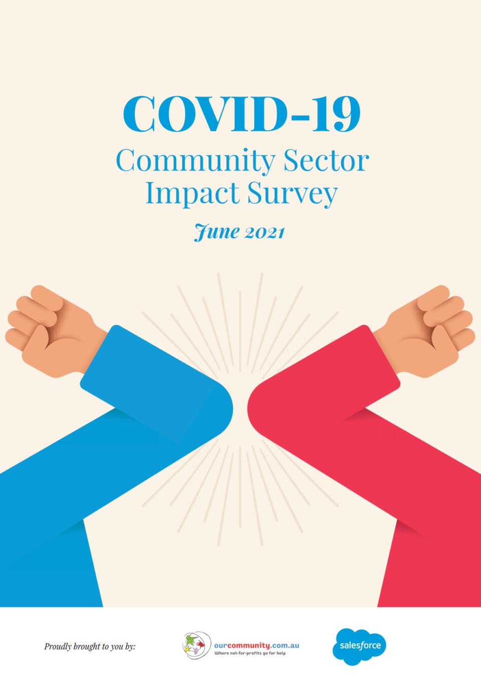 COVID Survey 2021 Cover