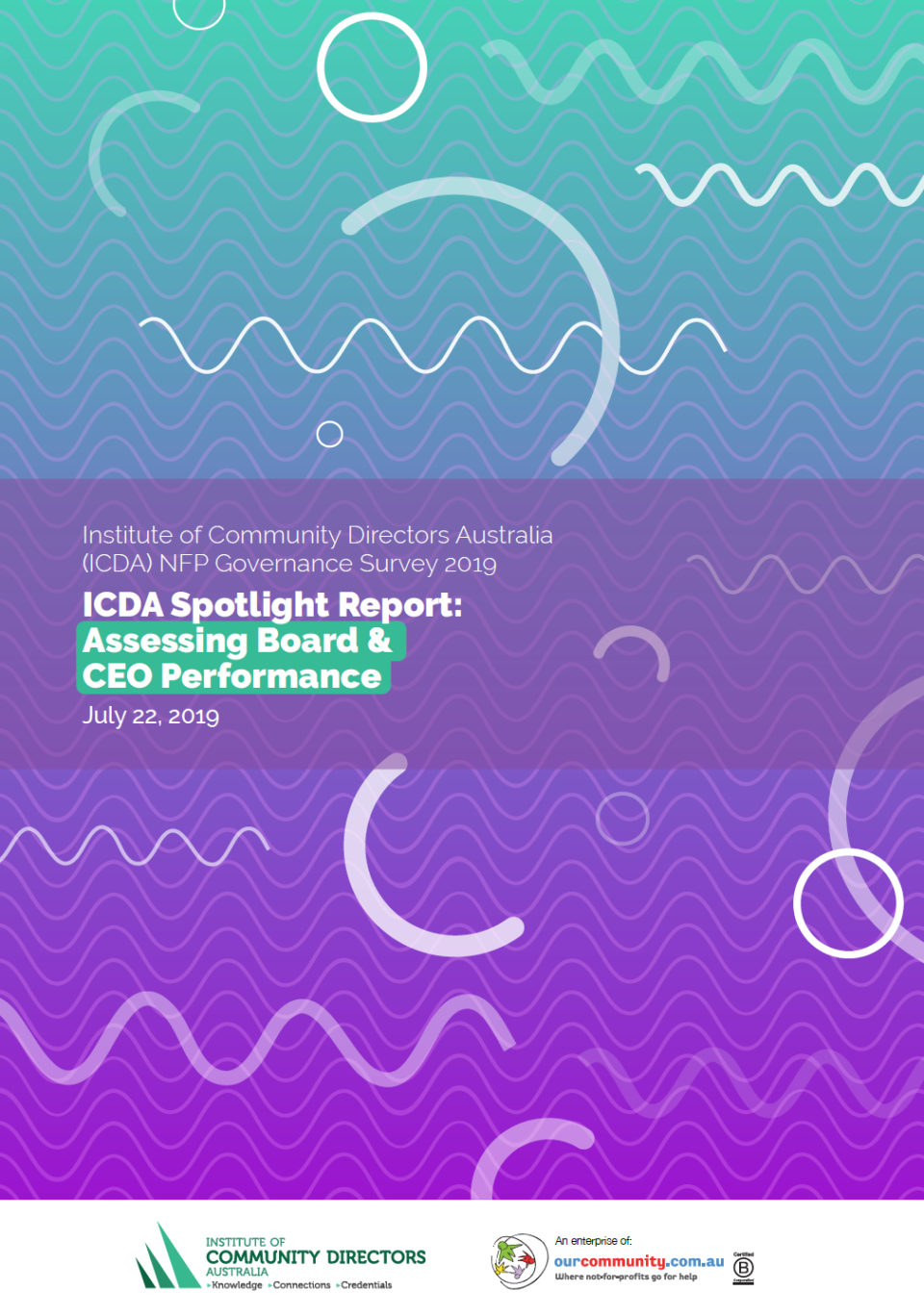 Front cover ICDA Spotlight Report Board CEO Performance July2019
