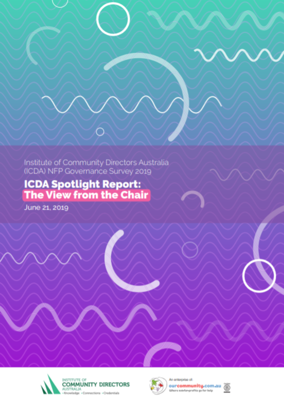 Viewfromthe Chair Report cover