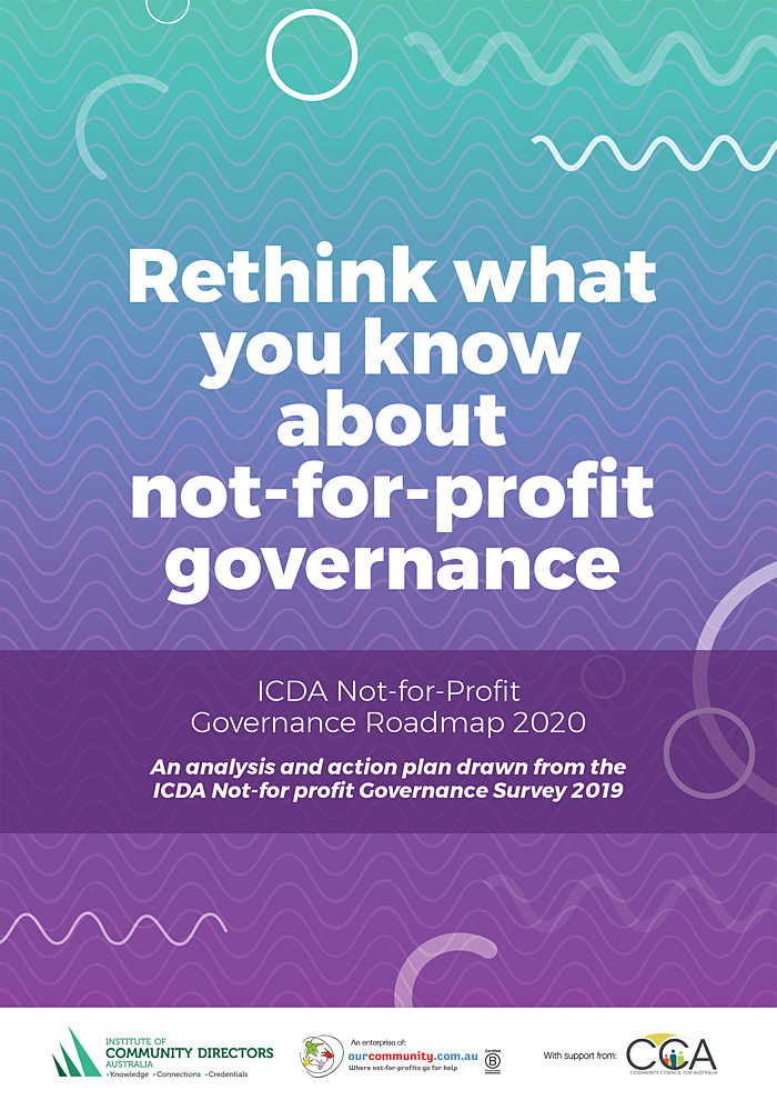 ICDA Governance Report 2019 cover