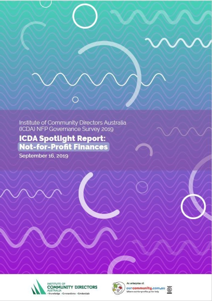 ICDA Spotlight Finances cover page