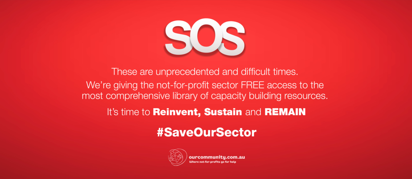 Save Our Sector webbanner