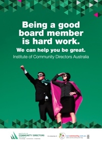 Institute of Community Directors Australia membership brochure